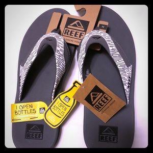 Men's REEF Fanning flip flops